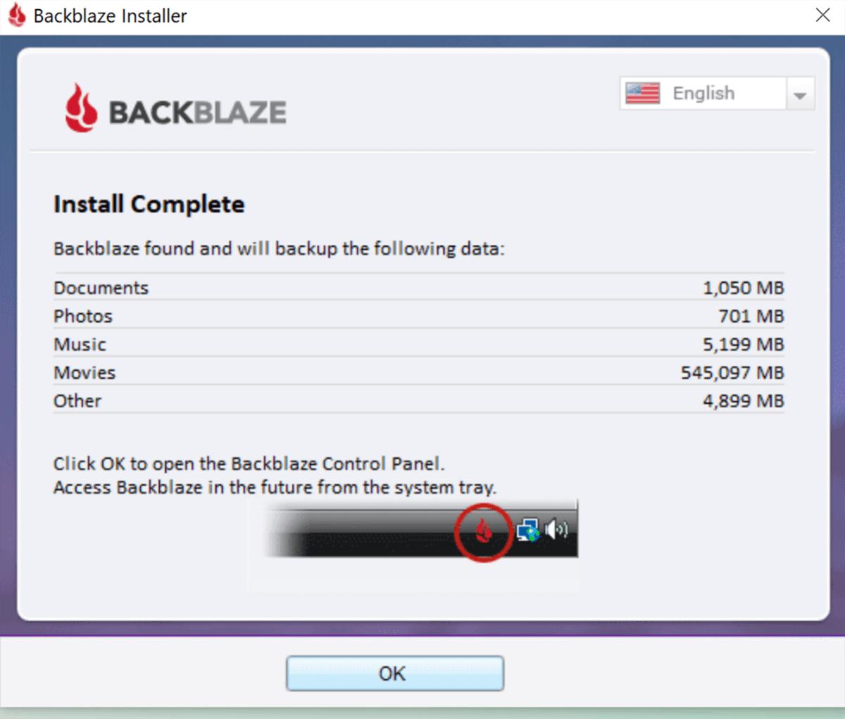 Blackblaze Installer