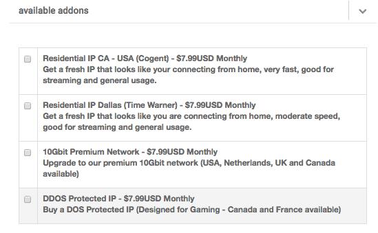 Opzioni di acquisto VPN TorGuard