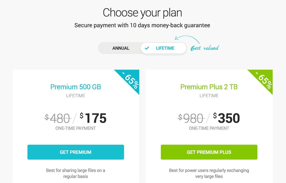 pCloud Lifetime subscription