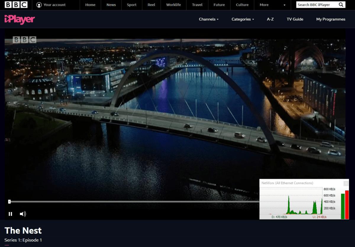 guarda in streaming BBC iPlayer gratuitamente con VyprVPN